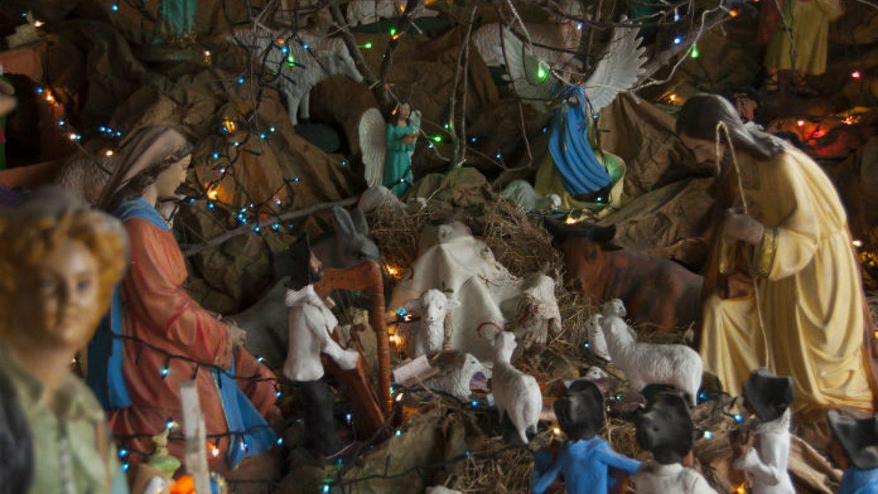 8d355b30ebb El pesebre es la verdadera representación de la Navidad
