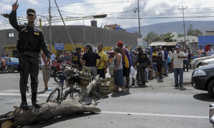 Protesta gas Santa Rosalia