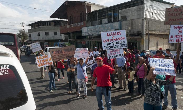 HABITANTES DE LA ZONA NORTE PROTESTAN POR SERVICIOS BASICOS. 27/01/2016. FOTO IVAN PIÑA