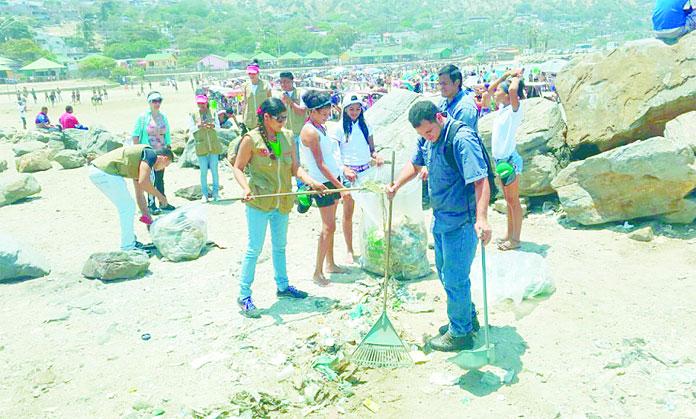 Jornada de saneamiento ambiental durante el asueto el for Ministerio del turismo