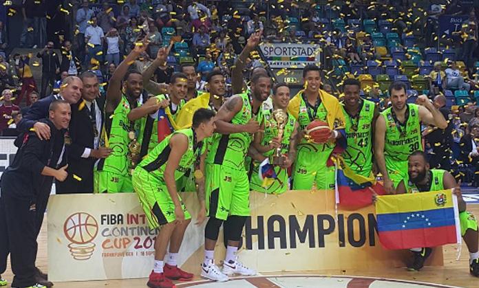 Guaros de Lara dejó el nombre de Venezuela bien al ser el primer quinteto criollo lograr dos títulos internacionales: Campeonato Fiba Américas y la Copa Intercontinental.