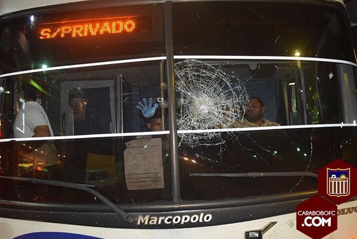 ▷ Intentaron robar autobús de Carabobo FC - El Impulso