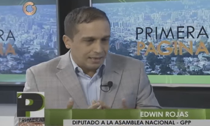 Edwin Rojas aseguró que en Venezuela