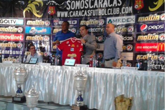 Noel Sanvicente regresó como director técnico al Caracas FC