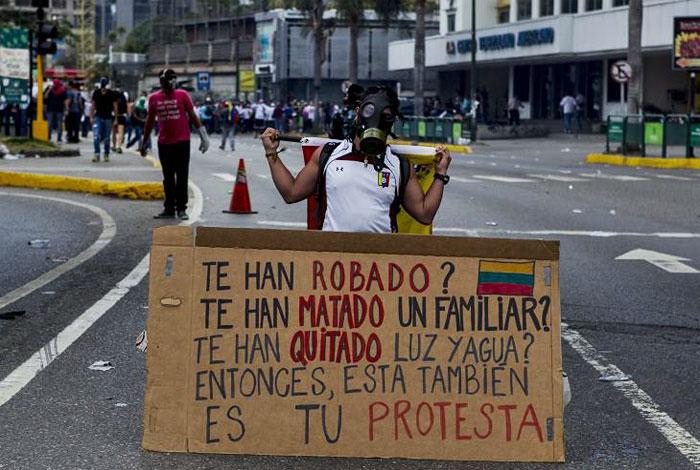 Resultado de imagen de violencia venezuela