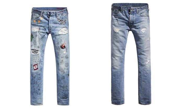 por la reconocida marca de jeans los pantalones la camisa western y la trucker jacket han vivido y han sido el objeto del