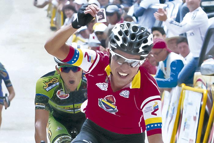 Jonathan Salinas conquistó la Vuelta al Táchira 2017