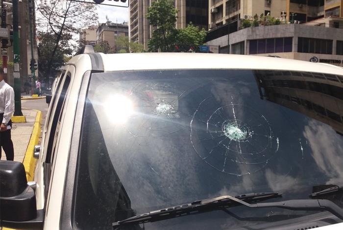 FOTOS: Colectivos atentaron contra la vida de Mauricio Sanchez en Cambural #25Mar