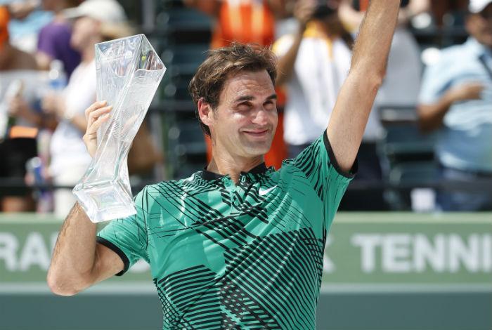 Federer doblega a Nadal y se corona en Miami