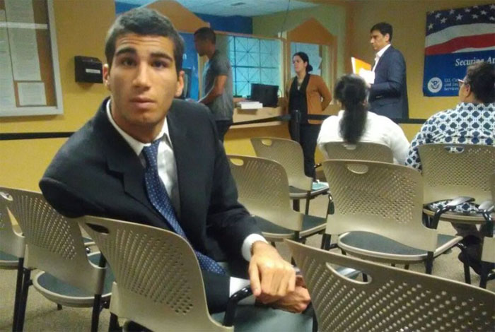 Marco Coello fue detenido por oficiales de inmigración en Miami