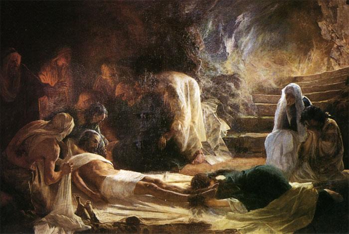 Iglesia San Juan Evangelista celebra vigilia pascual de resurrección