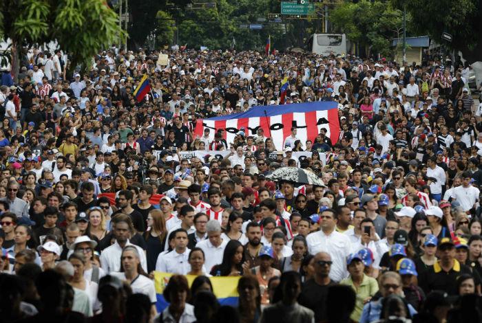 Grupos oficialistas de Venezuela se movilizan a favor de la Asamblea Constituyente