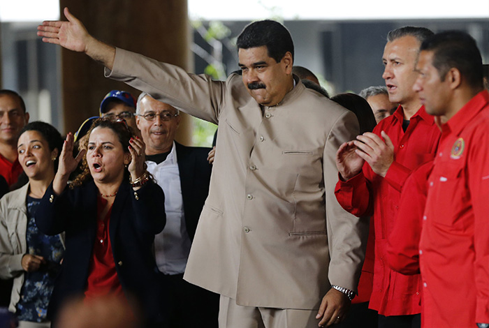 Donald Trump recibió a Santos