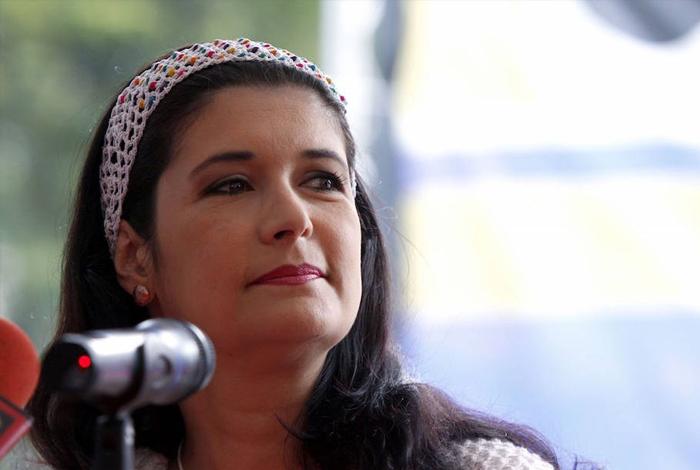 Venezolanos confrontaron a exministra Maripili Hernández en Barcelona