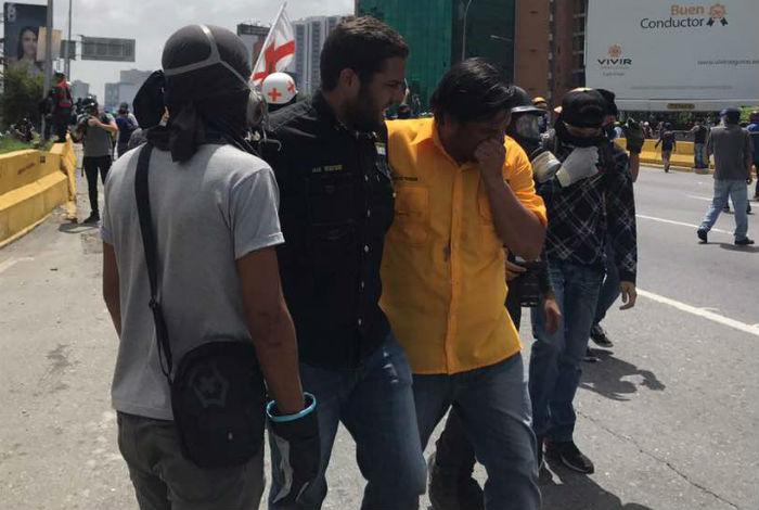 Reportan al menos 36 heridos, incluido un diputado, este #26Mayo