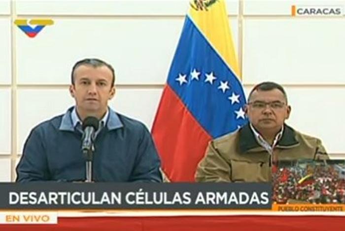 Detenido líder de células armadas en capital de Venezuela