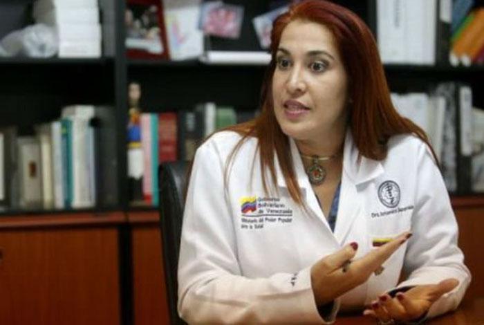 Destituída Ministra de Salud, Antonieta Caporale