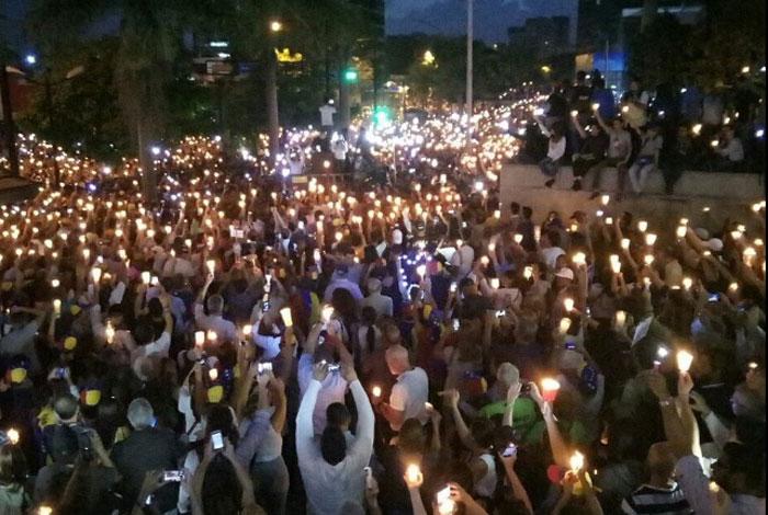MUD: Protestas nocturnas no serán marchas, sino concentraciones