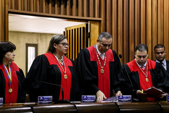 EEUU impone sanciones a los magistrados del Tribunal Supremo de Venezuela