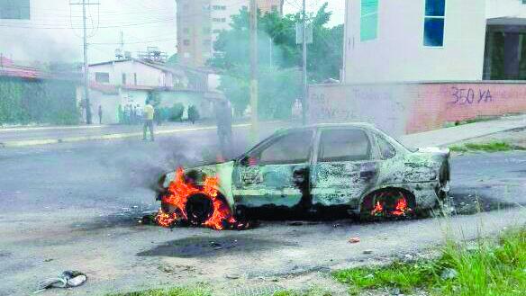GNB detuvo a seis manifestantes en San Cristóbal — VENEZUELA