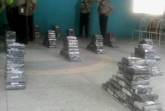 Gandola de Pdvsa transportaba 780 kilos de cocaína en Mene Grande