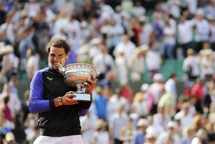 Rafael Nadal se llevó su décimo trofeo de Roland Garros