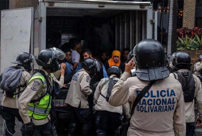 Estudiantes detenidos en El Rosal aun no han sido vistos por familiares