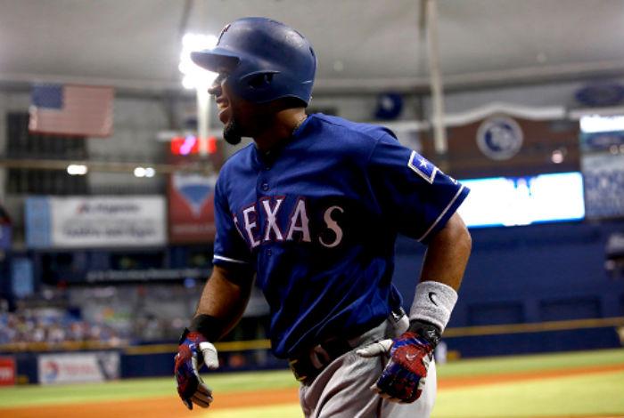 Escoba de Rangers a Rays en Grandes Ligas