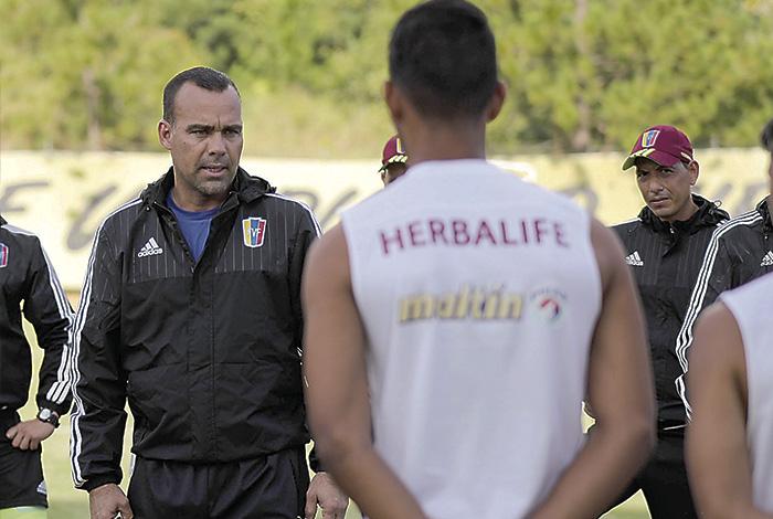 Venezuela, rival de Colombia, tiene nueve jugadores sub 20 en la convocatoria