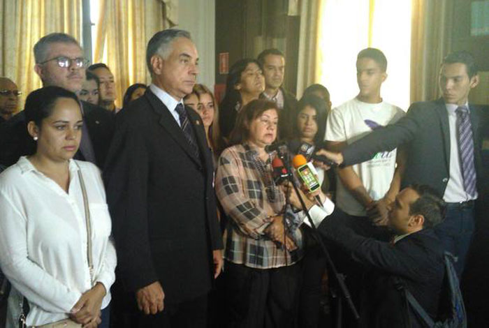 Magistrado Ángel Zerpa es liberado con medida de presentación cada ocho días