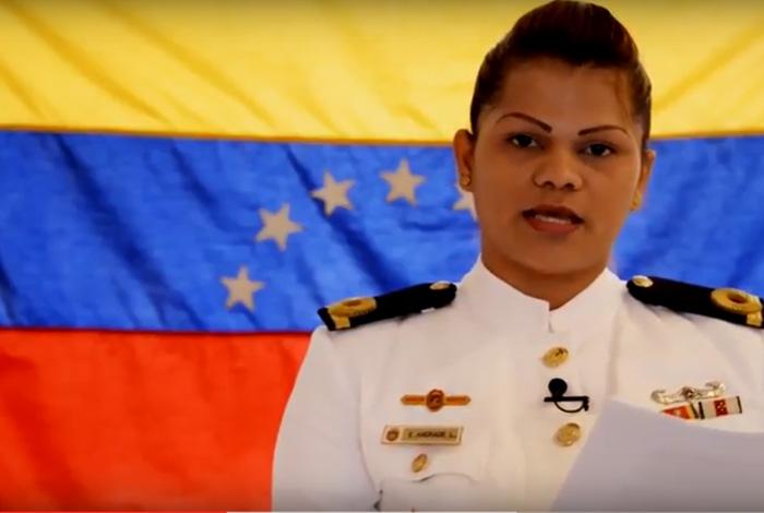 VENEZUELA: Alférez de navío se declara en rebelión y desconoce al Gobierno