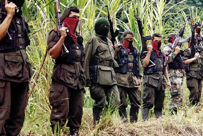 Capturados cuatro guerrilleros del Frente Ernesto Che Guevara del Eln