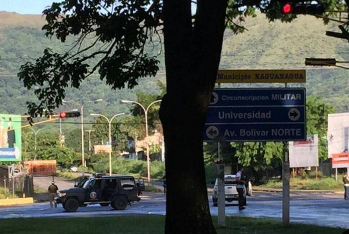 El ejército chavista controla alzamiento militar en Venezuela