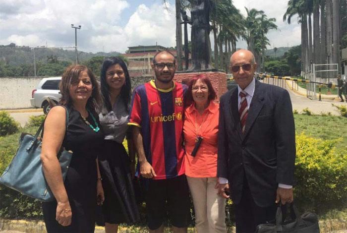 Liberan al periodista y activista Carlos Julio Rojas, preso en Ramo Verde