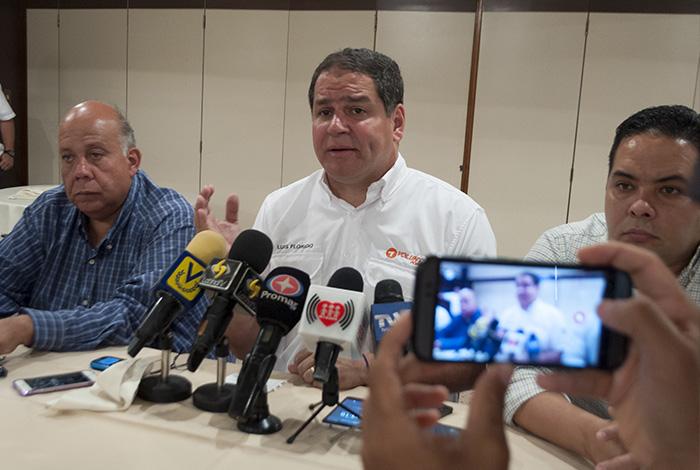 Luis Florido negó avances en la negociación con el Gobierno