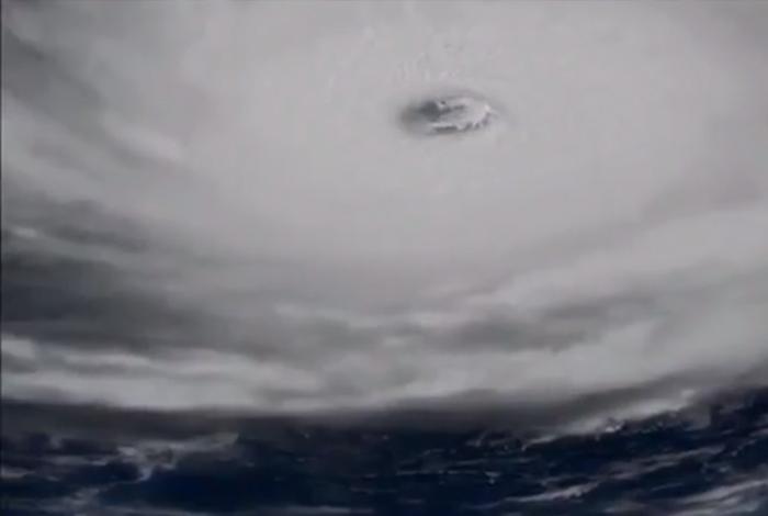 Así se ve Irma desde una estación espacial de la NASA