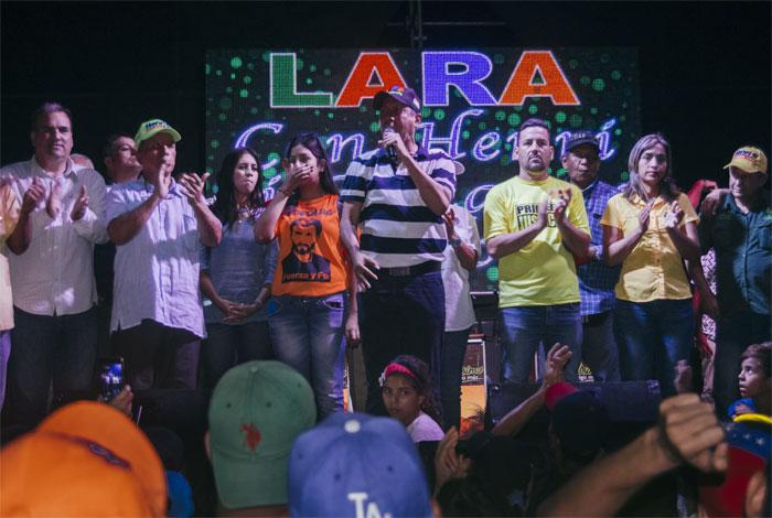 Henri Falcón denuncia irregularidades en Lara y pide a Lucena