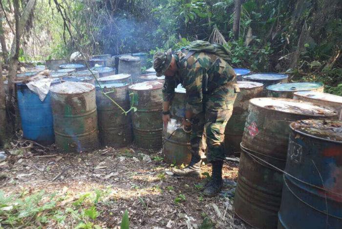 FANB desmantela campamento de cocaína en Zulia, cerca de frontera con Colombia