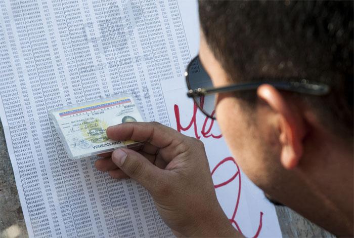 CNE: proceso electoral transcurre con normalidad