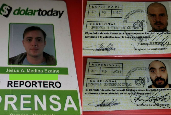 Detienen a dos periodistas extranjeros y un venezolano en Aragua