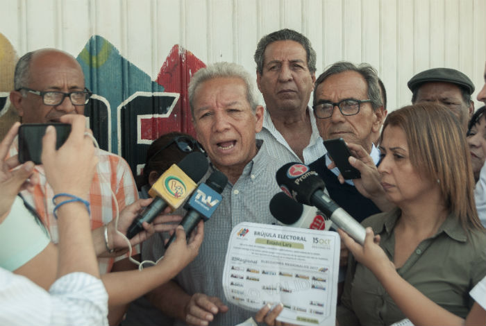 Socorro Hernández: Cambio en centros de votación estaba previsto #13Oct