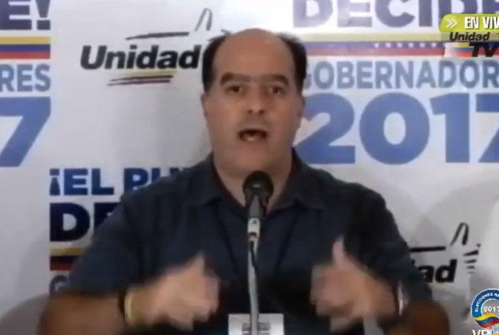 Venezolanos elegimos hoy gobernadores y votamos por un país libre — Borges