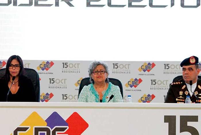 Un total de 70 acompañantes internacionales vigilarán comicios regionales en Venezuela