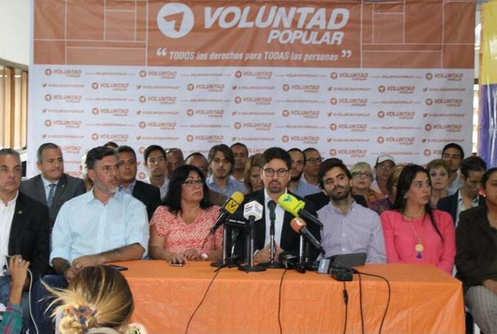 Voluntad Popular anuncia que no participará en elecciones municipales