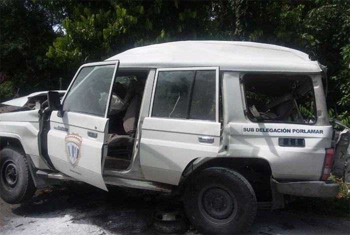 Seis funcionarios del Cicpc murieron en accidente en El Clavo