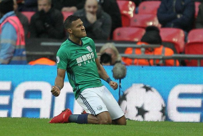 Salomón Rondón marcó en empate (1-1) del West Bromwich ante Tottenham