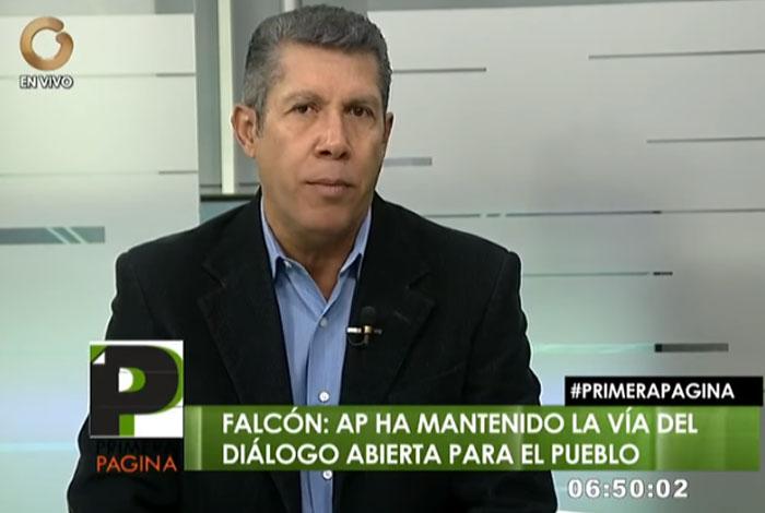 Hace falta conciliación para abordar los problemas reales del país — Henri Falcón