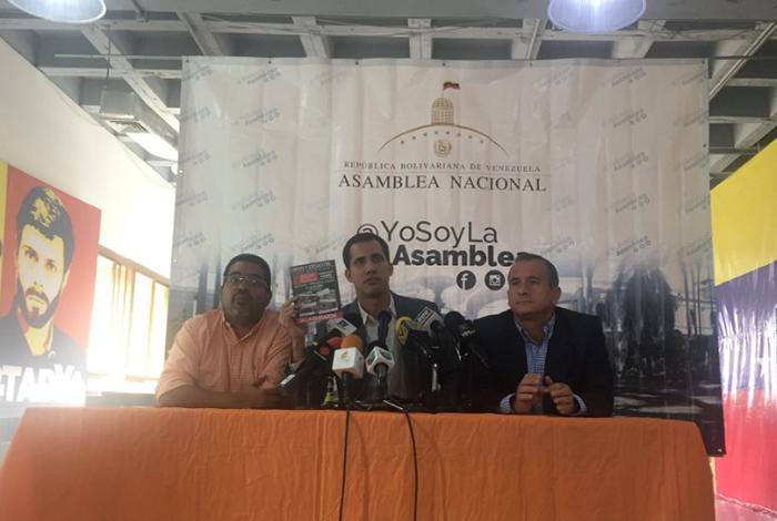 Guaidó presentó plataforma para denunciar casos de corrupción en Venezuela