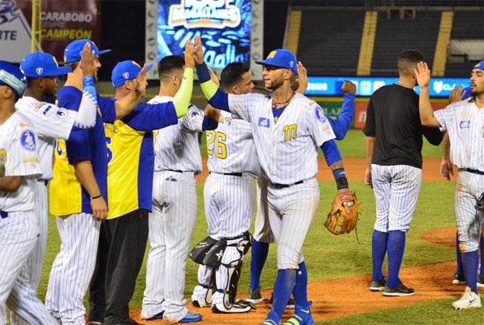 Magallanes resultó vencedor frente a las Águilas