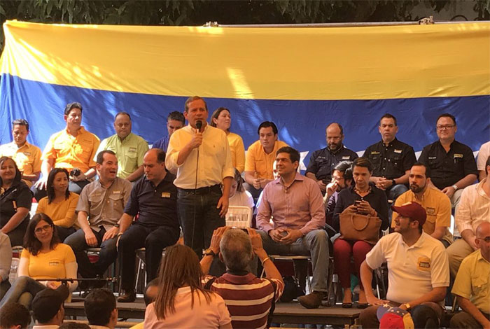 Guanipa pide realizar primarias presidenciales
